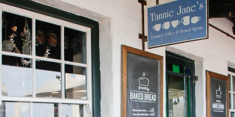 tannie jane's coffee shop