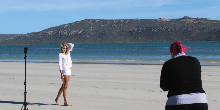 production shoots in langebaan